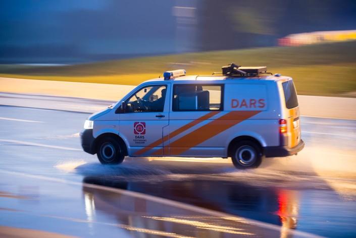 Šola varne vožnje, fotografiranje akcije